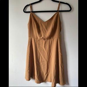 Dark Mustard Skater Dress